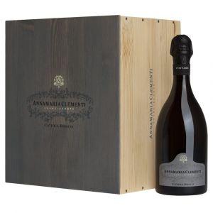 Franciacorta DOCG Cuvèe Annamaria Clementi 2011 3 bottiglie in Cassa Legno originale – Cà del Bosco