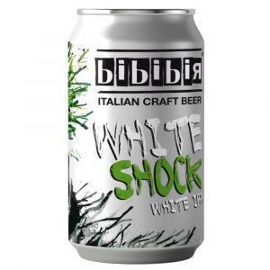 Birra Bionda White Shock Lattina 0,33 lt – Bibibir