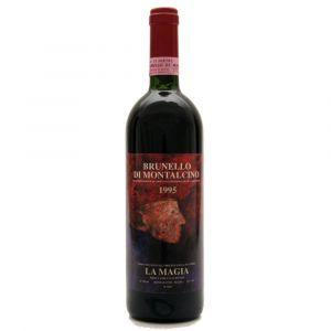 Brunello di Montalcino DOCG Etichetta Christian 1995 – La Magia