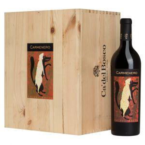 Carmenero 2013 6 bottiglie in Cassa Legno originale – Cà del Bosco
