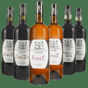 Degustazione 6 bt Miste Toscana - Fattoria di Poggiopiano