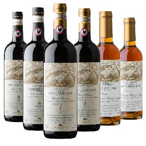 Degustazione 6 bt Chianti - Castello Monterinaldi