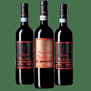 Degustazione 3 bt Montalcino - Col di Lamo