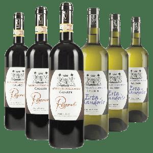 Degustazione 6 bt Toscana - Fattoria di Poggiopiano
