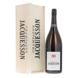 Champagne Extra Brut Cuvèe 741 JEROBOAM 3,0 lt Cassa Legno - Jacquesson