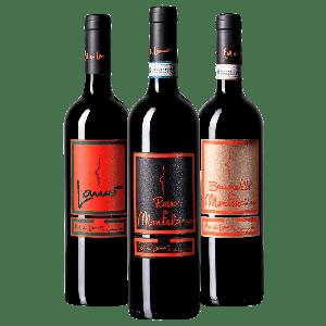 Degustazione 3 bt Miste Montalcino - Col di Lamo