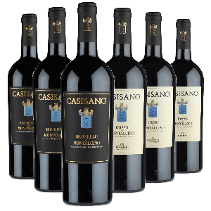 Degustazione 6 bt Montalcino - Casisano