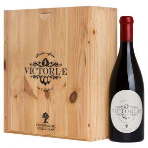 Victoriae Bianco Anfora Vallagarina IGT 2016 3 bottiglie in Cassa Legno originale – Mori Colli Zugna
