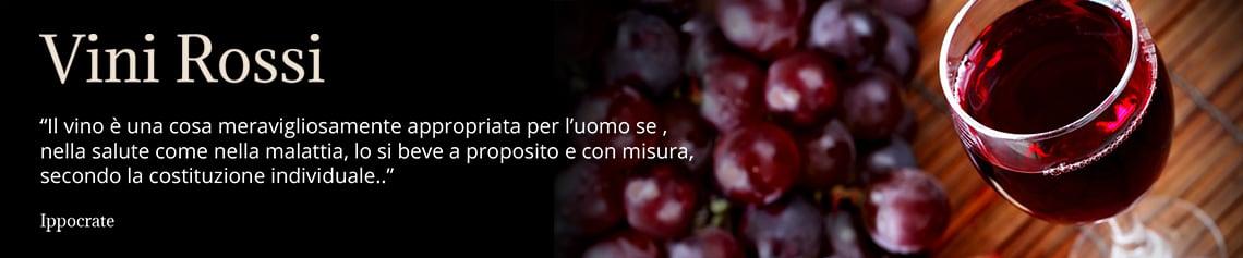 I nostri vini rossi